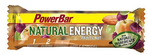 Barrita Energética Natural Energy Frutas PowerBar 12 Barritas x 40g Pastel de Manzana