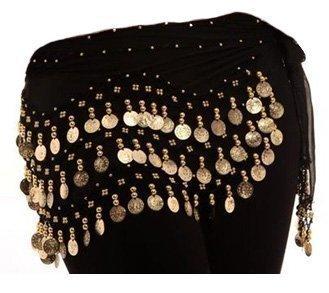 Kostüm Boho Gypsy - Hüft-Tuch für Bauchtanz (optional: passende Armmanschette)