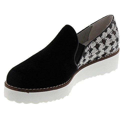 Marc Shoes Damen Romy Slipper Schwarz (Black-Combi)