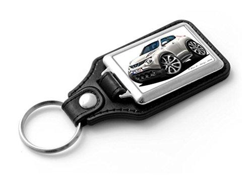 wickedartz-cartoon-car-nissan-juke-mini-suv-classic-style-key-ring-white