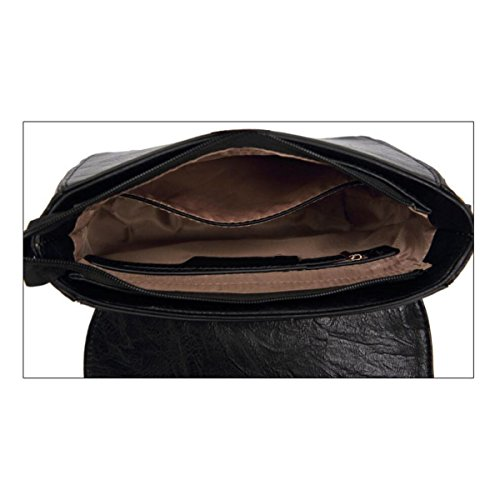 Mode Damenhandtasche Elegant Nieten Umhängetasche Hohl Kleine Quadratische Tasche Diagonale Damentasche Black