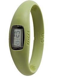 IO?ION! E-NWA34-II - Reloj digital de cuarzo unisex con correa de silicona, color verde
