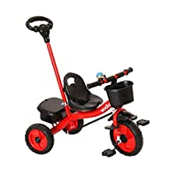 Wido Childrens 3 In 1 Trike 3 Wheel Bike With Push Handle Kids Toddler Bicycle Tricycle