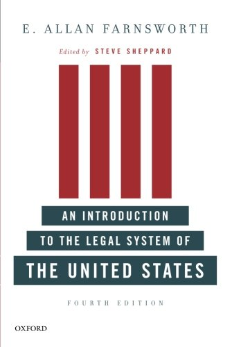 An Introduction to the Legal System of the United States, Fourth Edition par  E. Allan Farnsworth