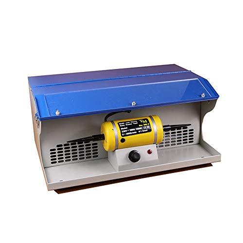 InLoveArts Polieren Poliermaschine mit Staubkollektor Bench Schmuck Polierer Multi-Use Hochleistungs-Elektrowerkzeug 7000RPM