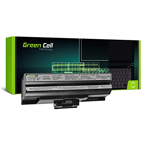Green Cell Standard Serie VGP-BPS13 VGP-BPS13/S VGP-BPS13/B VGP-BPS13/Q VGP-BPL13 VGP-BPS21 VGP-BPS21A VGP-BPS21B Laptop Akku für Sony Vaio (6 Zellen 4400mAh 11.1V Schwarz)