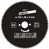 Wolfcraft-feuilles de scie circulaire 200 X 30 mm 72 dents