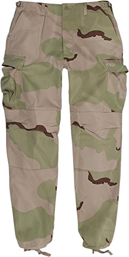 Normani Army Cargohose Comfort Fit Feldhose - 3 Color Desert Größe - Größe wählbar