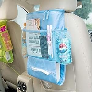 ASkyl Convenient Backseat Storage Bag Functional Organizer 5 Pocket Automotive Car Back Seat Organizer