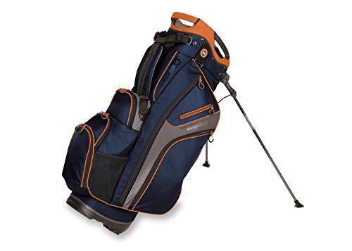 Bag Boy Kühlschrank Hybrid Stand, Unisex, BB36189, Navy/Charcoal/Orange, Einheitsgröße (Hybrid Bag Boy)