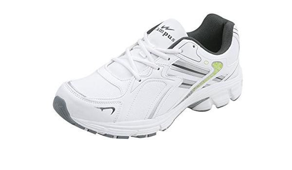 Campus Bristol Men White Sports Shoes