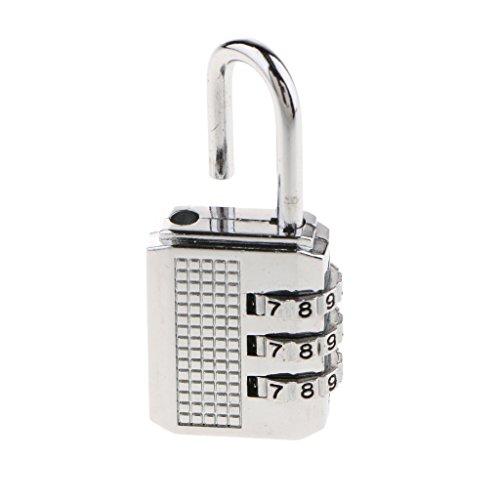 D DOLITY Cerraduras de Equipaje/Cerradura de Combinación/Cerradura de