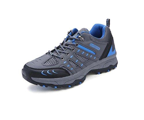 Randonnée plein air casual chaussures pour aider randonnée étanche glissement faible chaussures chaussures d'extérieur ash 8601