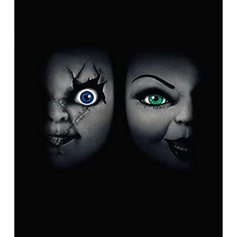 Reproducción de un póster de presentación–novia de Chucky Póster 02–comprar en