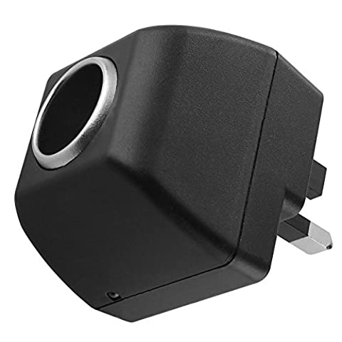 AC to DC Converter 110 - 220V Mains to 12V Car Cigarette Lighter Power Socket 12V / 0.5A DC Adapter Charger with UK 3