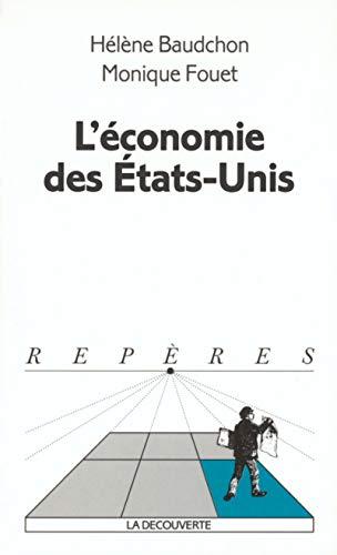 L'économie des Etats-Unis par Hélène Baudchon