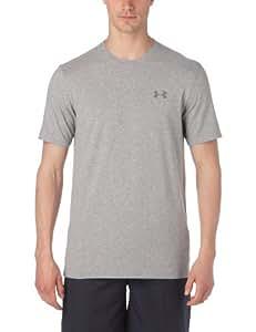 Under Armour Herren T-Shirt New EU Charged Short Sleeved, hellgrau (25), S