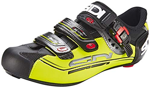 Sidi Genius 7 Mega Shoes Men Black/Yellow Schuhgröße EU 44 2019 Schuhe (Sidi Caliper)