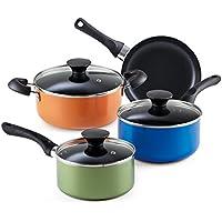 Cook N Home 02543 batería de cocina (13 piezas, Pequeño, multicolor