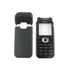 jshopping Replacement Full Body Housing Back, Body Panel For Nokia 6030- Black