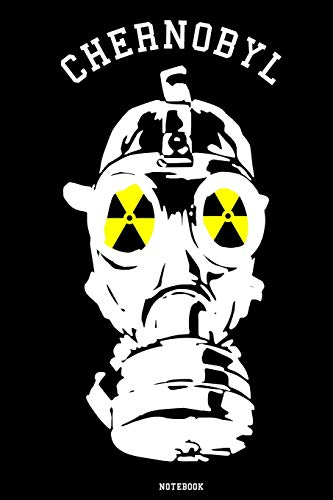 Chernobyl: Notebook | college book | diary | journal | booklet | memo | composition book | 110 sheets - ruled paper 6x9 inch - Mini 110 Serie