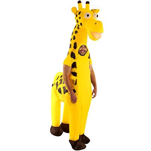 bares Kostüm, Unisex, Giraffe, Einheitsgröße Erwachsene ()
