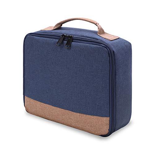 Bolsa para Proyector,25 x 21 x 11cm Estuche de Proyector Portátil Mini Bolsas Acolchada para GEARGO HD Proyector
