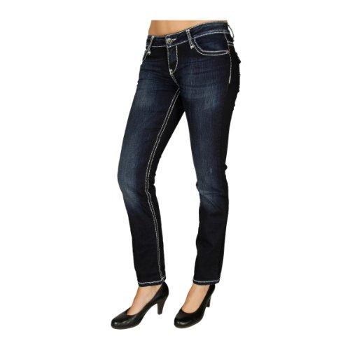 """Cipo & Baxx Damen Jeans """"CBW-0232"""" blue JEANS DUNKELBLAU"""
