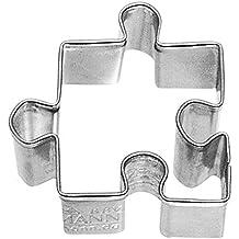 Birkmann 1010695410Galletas forma puzzle notebook, plástico, Gris, 5x 3x 2cm