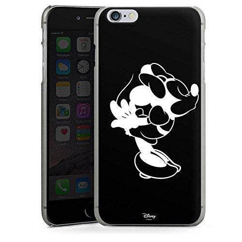 Apple iPhone SE Hülle Case Handyhülle Disney Minnie Mouse Merchandise Geschenke Hard Case anthrazit-klar