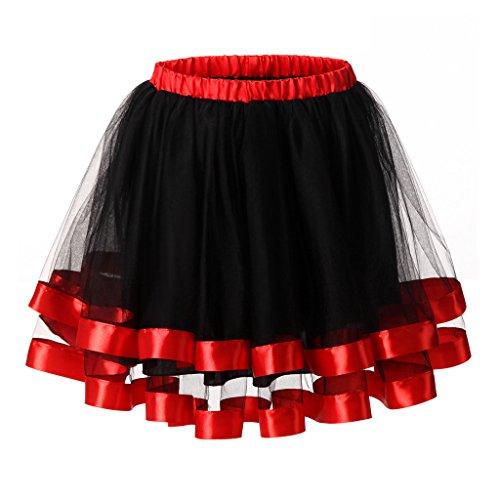 Roll Rock Jahre 1950er Outfits And (Ellames Damen 1950er Jahre Vintage Tutu Petticoat Rock Prom Abend Gelegenheit Zubehör Königsblau)