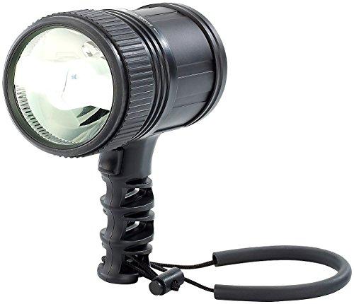 KryoLights Handstrahler: LED-Handlampe 10 W, 480 Lumen, für bis zu 350 m Leuchtweite (LED Taschenlampen)