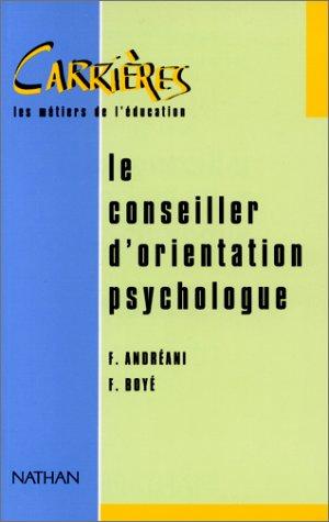 Le conseiller d'orientation psychologue