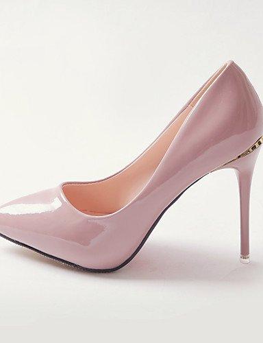 WSS 2016 Chaussures Femme-Habillé / Soirée & Evénement-Noir / Rose / Rouge / Blanc-Talon Aiguille-Talons / Escarpin Basique / Bout Pointu-Talons- black-us6.5-7 / eu37 / uk4.5-5 / cn37