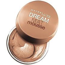 Maybelline New York Base de maquillaje Dream Mat Mousse, 32 Dorado