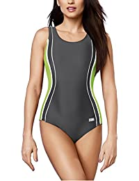 Gwinner Badeanzug Sportbadeanzug Schwimmanzug Bademode Damen einteilig sehr bequem und elastisch, mit weichen, herausnehmbaren Körbchen, aus hochwertigem Material made in EU Agata