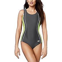 0776b436ae74a Gwinner Badeanzug Sportbadeanzug Schwimmanzug Bademode Damen einteilig sehr  bequem und elastisch, mit weichen, herausnehmbaren