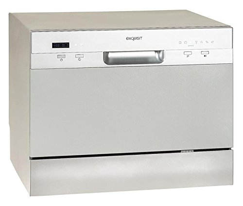 Exquisit GSP-206 Countertop 6places A+ Silver - dishwashers (Countertop, A,...