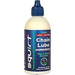 Squirt Clean Long Lasting Chain lube 120ml