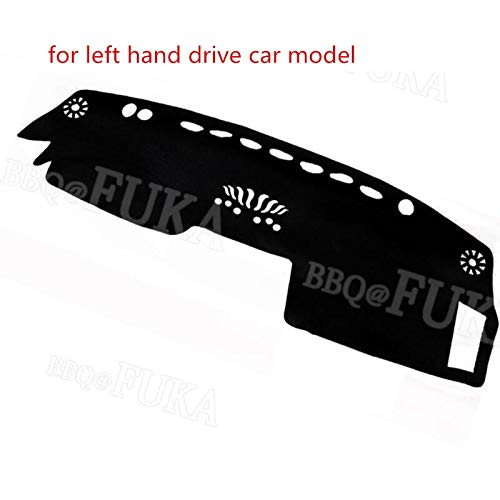 Duspper - Auto-Armaturenbrett-Schlag-Matte Dashmat Cover Car Styling Teil Pad Fit für Nissan Infiniti FX35 FX45 FX50 RHD und LHD 2003-2008 [Brown]