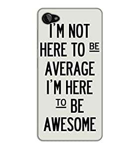 Happoz Lenovo Zuk Z2 Cases Back Cover Mobile Pouches Shell Hard Plastic Graphic Armour Premium Printed Designer Cartoon Girl 3D Funky Fancy Slim Graffiti Imported Cute Colurful Stylish Boys D188