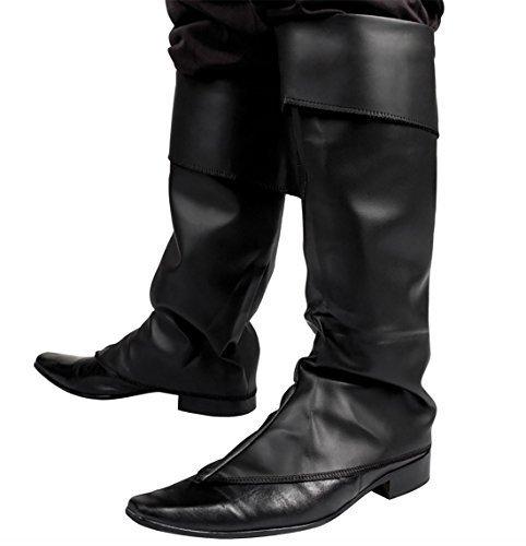 fel Abdeckungen mittelalterlich Peter Pan Wikinger schwarzes Leder Römisch (Schwarz Peter Pan Kostüm)