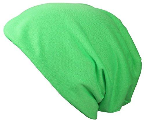 Alex Flittner Designs Bonnet Jersey Neon en Jaune neon, Orange neon, Pink neon, Vert neon turquoise claire, magenta