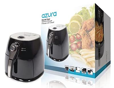 Hot Air Fryer 1400 W 4 l Noir / Argent
