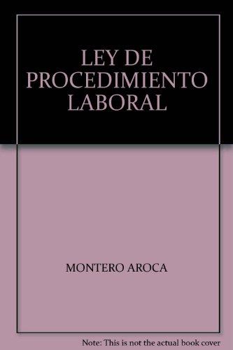 Ley de procedimiento laboral 8ª Ed. Anotada y concordada