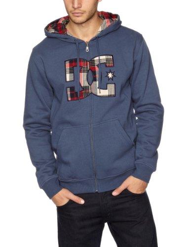 DC Shoes Herren Fleece Sweatshirt Thresher EU, dkdnm, S, D053860126-DDMD