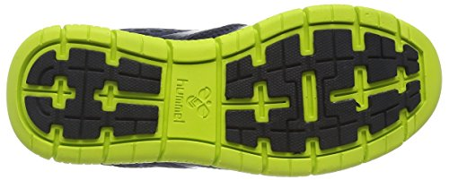Hummel Hummel Crosslite, Chaussures indoor mixte adulte Gris - Grau (Graphite / Sulphur Spring 1056)