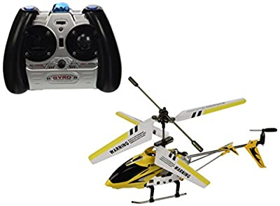 New Syma 3 Channel S107 Mini Indoor Co-Axial Metal Body Frame & Built-in Gyroscope RC Remote Controlled Helicopter (Colors and Frequencies May Vary.)