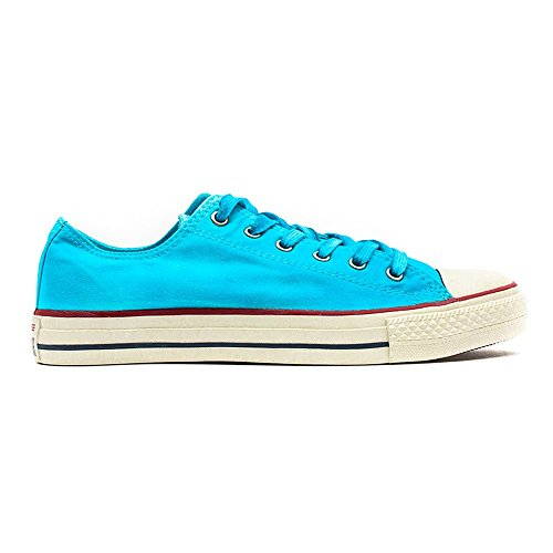 Converse  Chuck Taylor All Star Femme Sparkle Wash Ox, Sneakers Basses femme Bleu Peacock