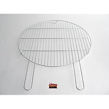 57 cm gr57cfg grillgitter verchromt f r feuerschale 55 cm. Black Bedroom Furniture Sets. Home Design Ideas
